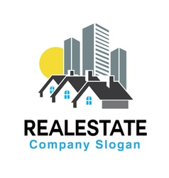 Real estate v2 design vector