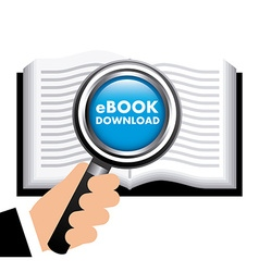 Ebook concept design vector