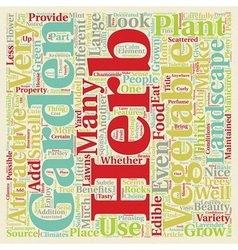 Herb and vegetable gardens are lanscapes too text vector