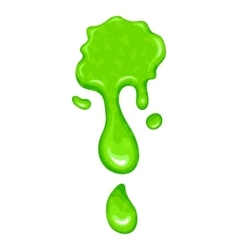 New green slime icon vector
