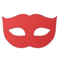 Privacy Mask Gradient Icon vector image