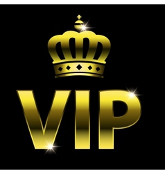 vip design vector image vector image