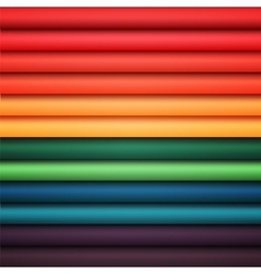 Abstract rainbow colorful lines vector image vector image