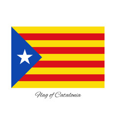 Coat of arms of catalonia vector