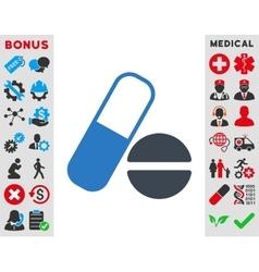 Medication Icon vector image vector image