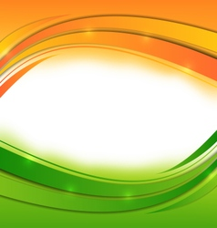 Wavy background for indian holidays vector