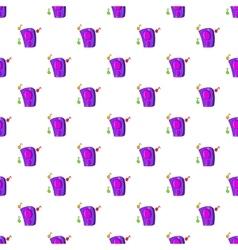 Music column pattern cartoon style vector