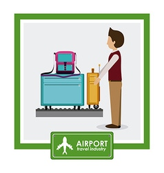 Airport design vector