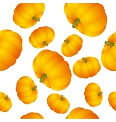 Pumpkins seamless vector