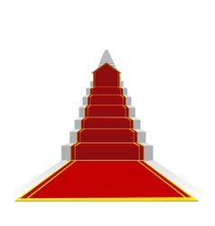 long success ladder vector image