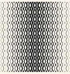 halftone geometric seamless pattern with diamond vector image vector image