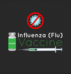 For influenza vaccination vector