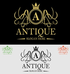 Antique logo vector