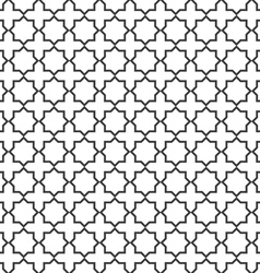 Seamless delicate pattern in islamic style vector