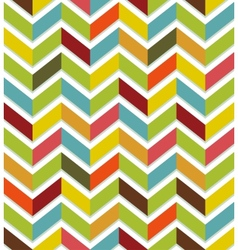 Colorful chevron seamless vector image
