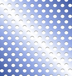 Seamless stainless blue shade metallic grid vector