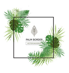 frame border design decorated vector image