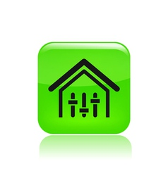 House levels icon vector