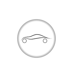 Car logo Automobile sign vector image vector image