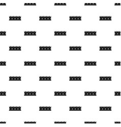 Little crown pattern vector