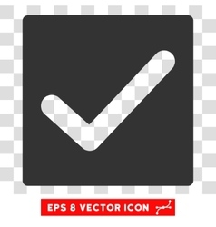 Check eps icon vector