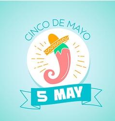 5 may Cinco de Mayo vector image