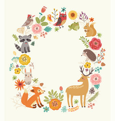 animals background vector image