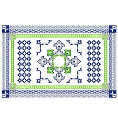 Arabic style carpet design vector