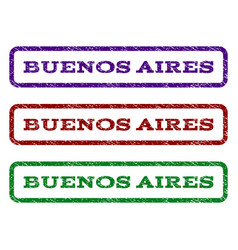 buenos aires watermark stamp vector image