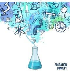 Education Concept Sketch vector image