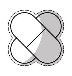 Medicine pills icon image vector