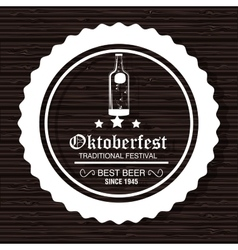 Oktoberfest traditional festival vector