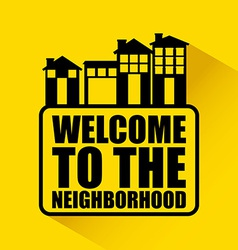 Welcome neighborhood vector