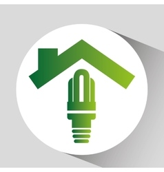 concept environment energy saving icon graphic vector image