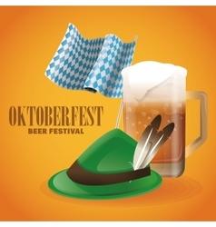 Oktoberfest celebration of germany design vector