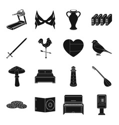 street theater sport weather and other web icon vector image