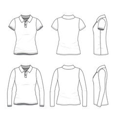 female clothing set vector image
