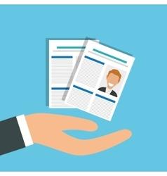 Job interview icon design vector