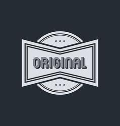 original badge vector image vector image