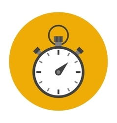 Stopwatch flat icon vector