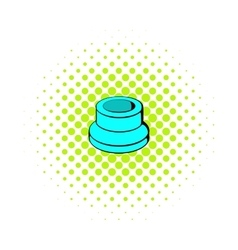 Vaporizer component icon comics style vector image vector image