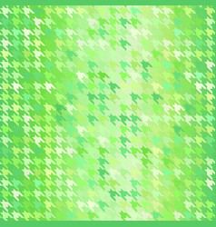 houndstooth pattern seamless background vector image