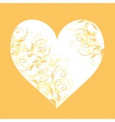 heart design element vector image
