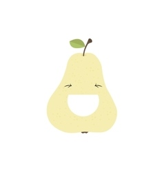 Abstract delicious Pear vector image