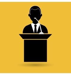 elections icon design vector image