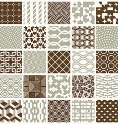 graphic vintage textures created with squares vector image vector image