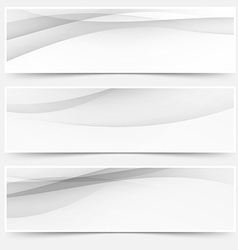 Header soft abstract line web collection vector