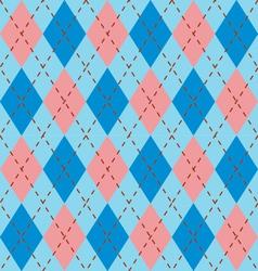 retro harlequin vector image vector image
