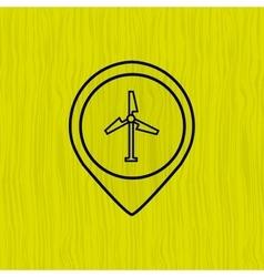 Sign industry design vector