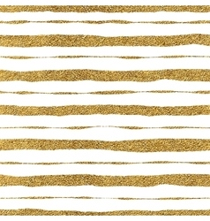 Seamless pattern of golden strokes vector image vector image